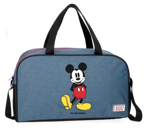 4373361 bolsa de viaje 45 cm mickey blue