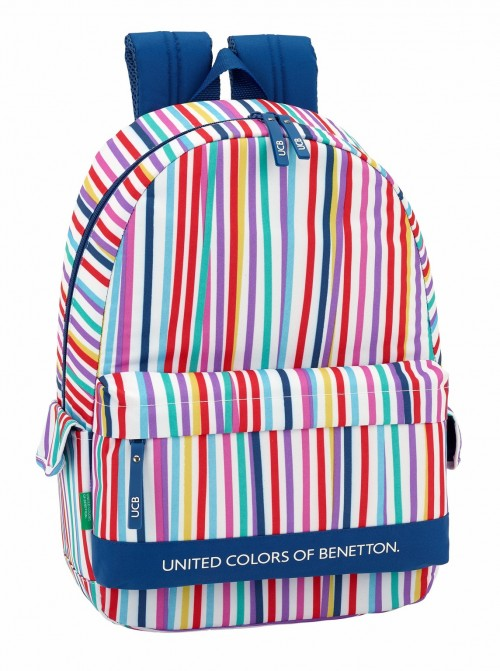 611828758 mochila con bolsos laterales adaptable benetton lines