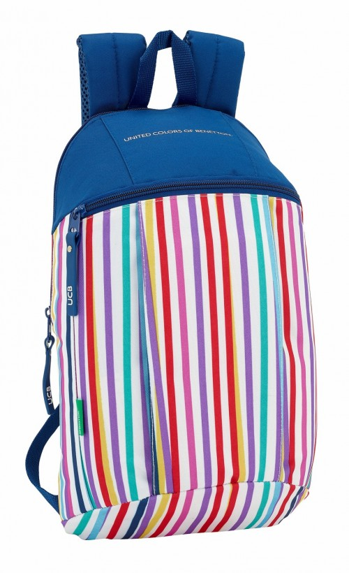 611828821 mochila urbana benetton color lines