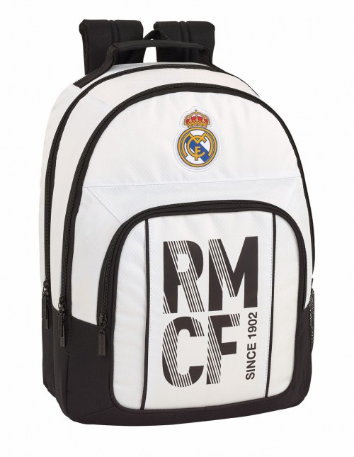 611854560 mochila doble compartimento adaptable a carro real madrid primera división