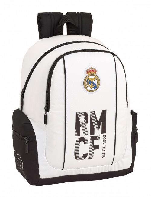 611854662 Mochila Grande con Bolsos laterales con Cremallera Real Madrid 1ª División