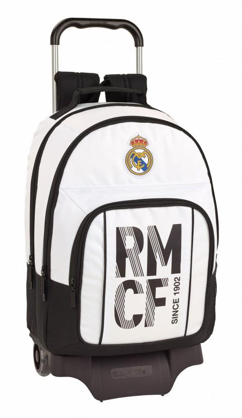 611854863 mochila doble compartimento con carro del real madrid primera división