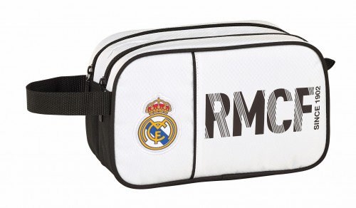 811854518 neceser doble compartimento adaptable a trolley real madrid primera división