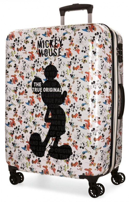 3321861 maleta mediana 4 ruedas mickey true original