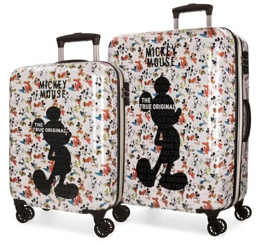 3321961 juego maletas cabina y mediana mickey true original