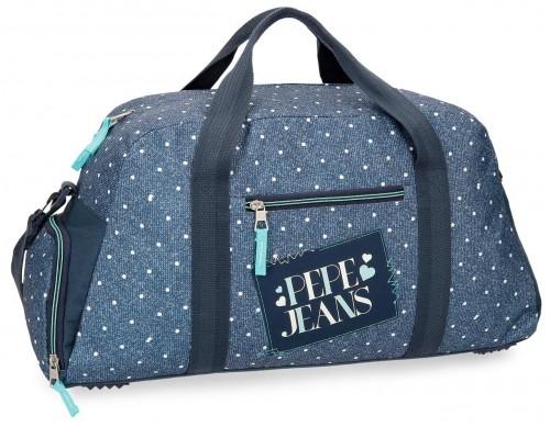 6153661 bolsa de viaje 55 cm pepe jeans olaia azul