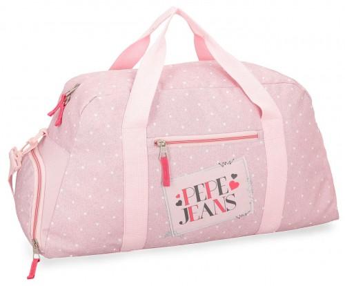 6153662 bolsa de viaje 55 cm pepe jeans olaia rosa