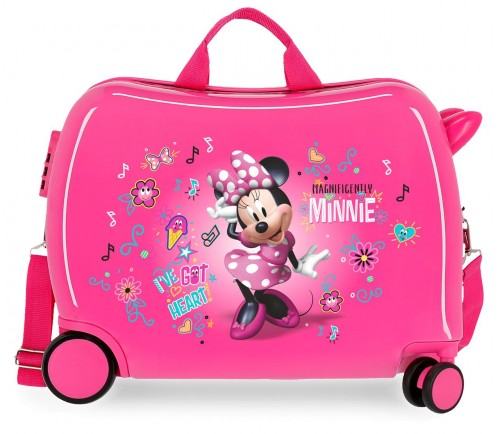 23398E1 maleta infantil correpasillos minnie stickers