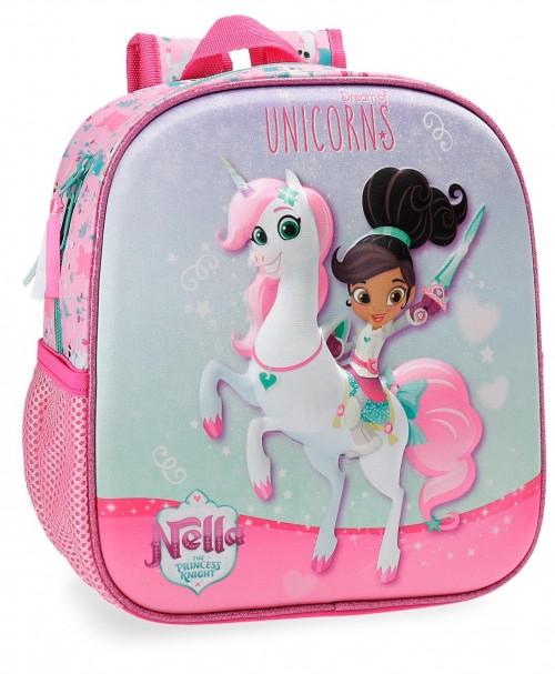 2342061 mochila 25 cm unicorns nella