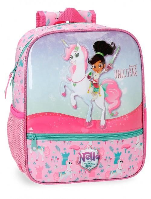 2342161 mochila 28 cm unicorns nella