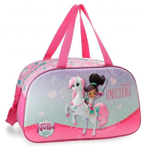 2343361 bolsa viaje 44 cm unicorns nella efecto 3d