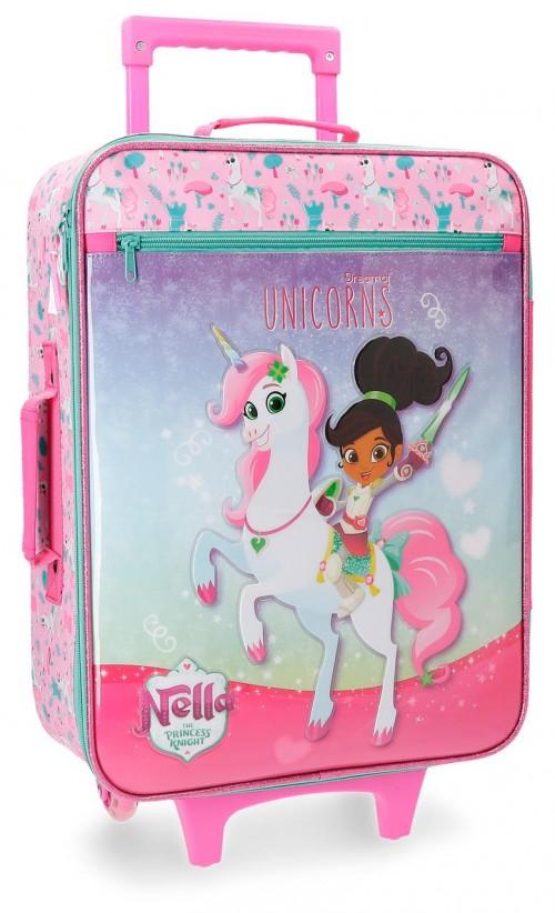 2349061 maleta cabina 2 ruedas unicorns nella