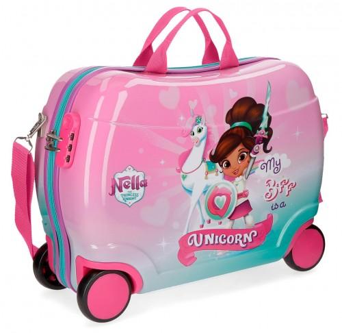 44399C1 maleta infantil 4 ruedas nella