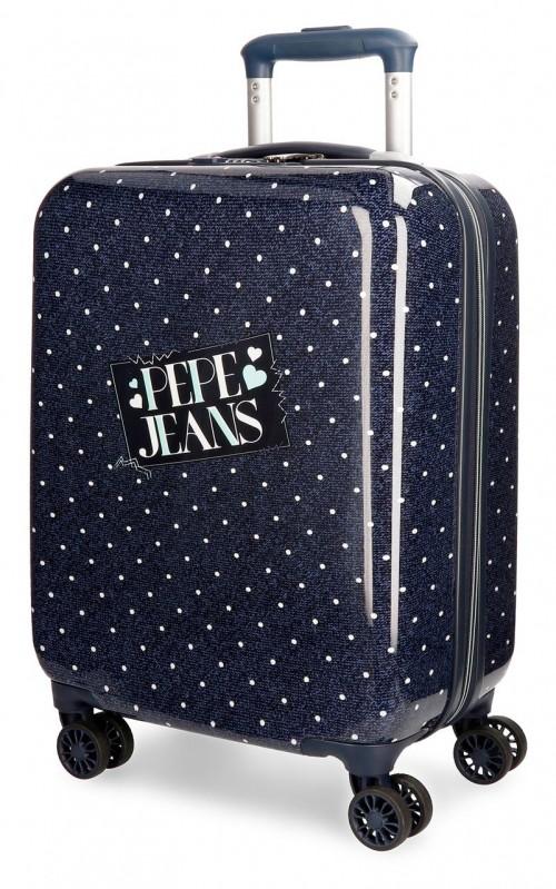 6157061 maleta cabina pepe jeans olaia azul