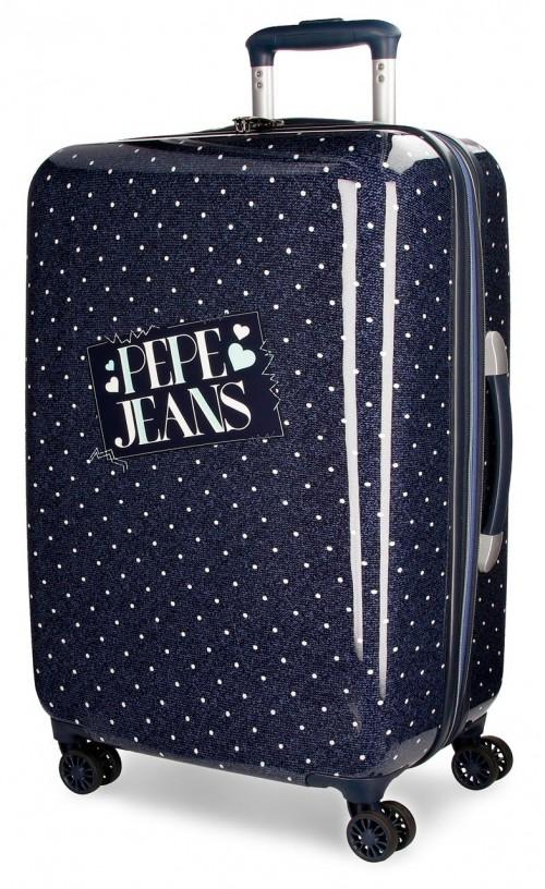 6157161 maleta mediana pepe jeans olaia azul