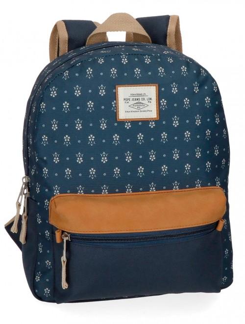6232261 mochila paseo pepe jeans carola azul