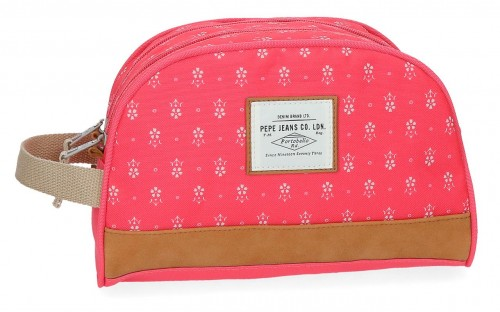 6234462 neceser doble adaptable pepe jeans carola coral