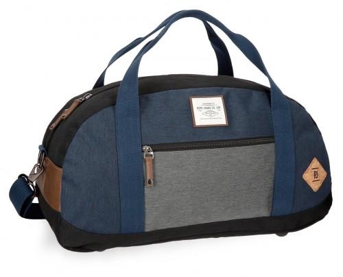 6243561 bolsa viaje 50 cm pepe jeans roy azul
