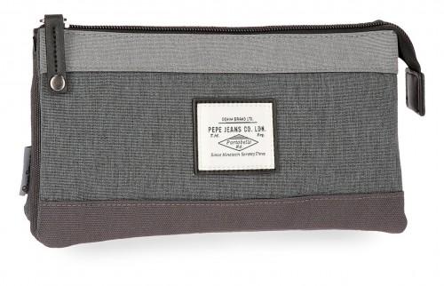 6244362 portatodo triple pepe jeans roy gris
