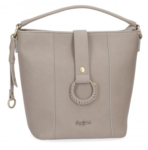 7297662 bolso shopping pepe jeans karla beig