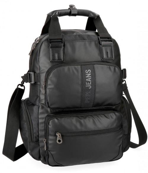 7352461 mochila portaordenador pepe jeans bromley negro