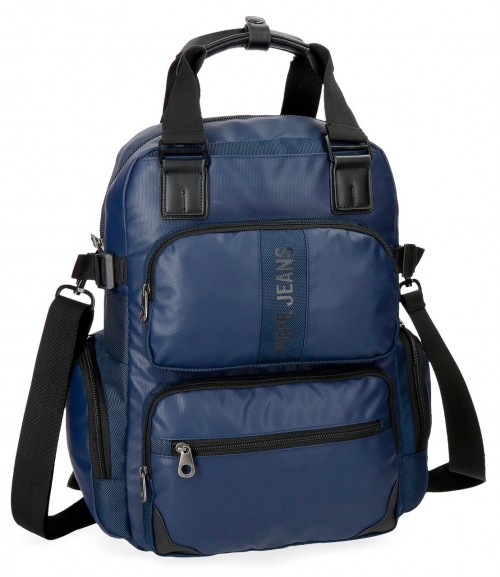 7352462 mochila pepe jeans bromley azul