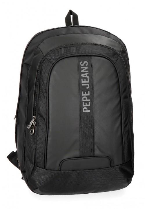 7352861 mochila portaordenador pepe jeans bromley negro