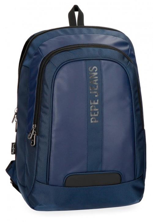 7352862 mochila portaordenador pepe jeans vromley azul