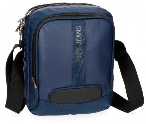 7355762  bandolera 27 cm pepe jeans bromley azul