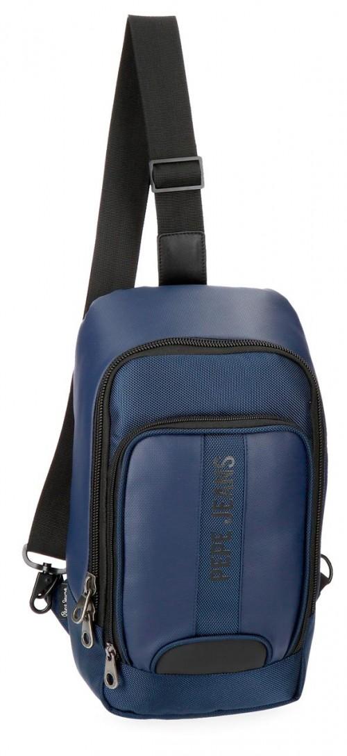 7355962 bandolera cruzada pepe jeans bromley  azul