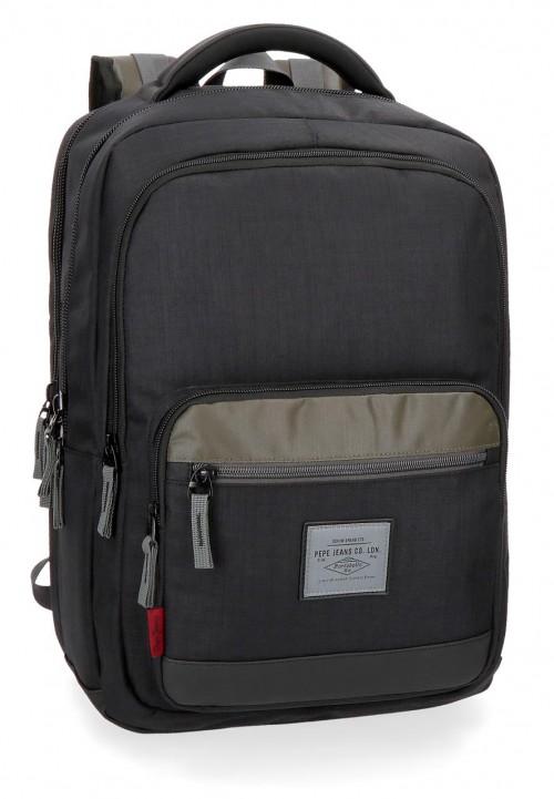7372561 mochila portaordenador doble c. pepe jeans brand
