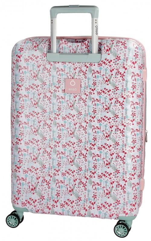 9137161 maleta  mediana 70 cm enso secret garden trasera