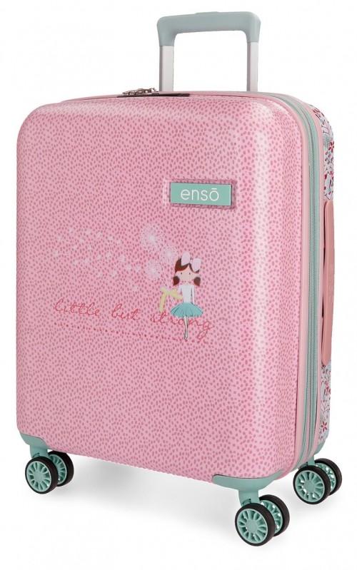 9138661 maleta 55 cm enso secret garden