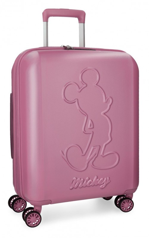 3418663 maleta cabina mickey premium rosa