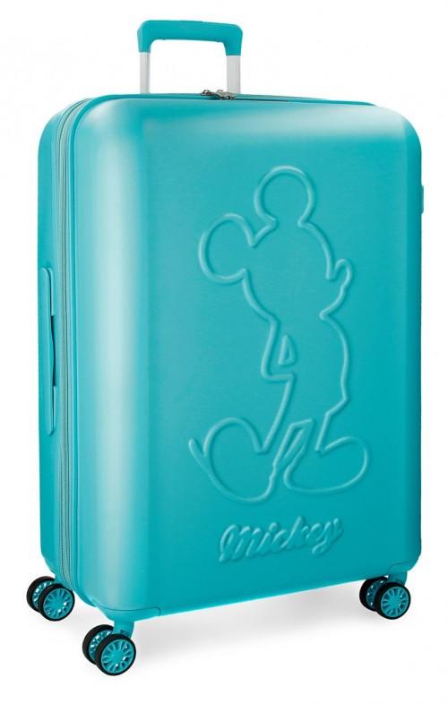 3418862 maleta mediana mickey premium turquesa