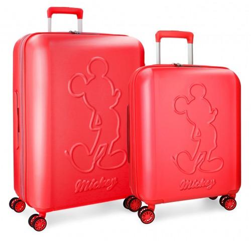3418961 juego maletas cabina y mediana mickey premium