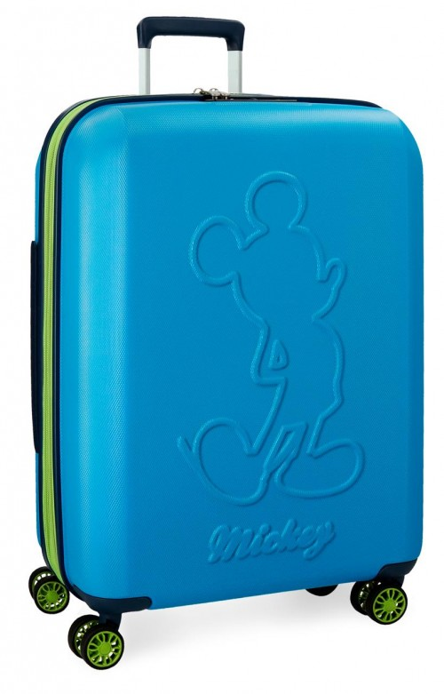 3428862 maleta mediana mickey colored azul