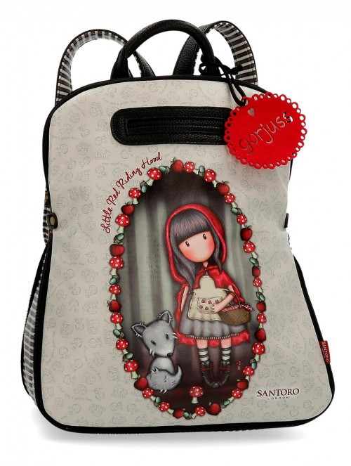 3492261 mochila 38 cm gorjuss little red