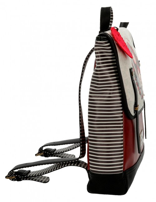 3492561 mochila 38 cm portaordenador gorjuss little red  lateral