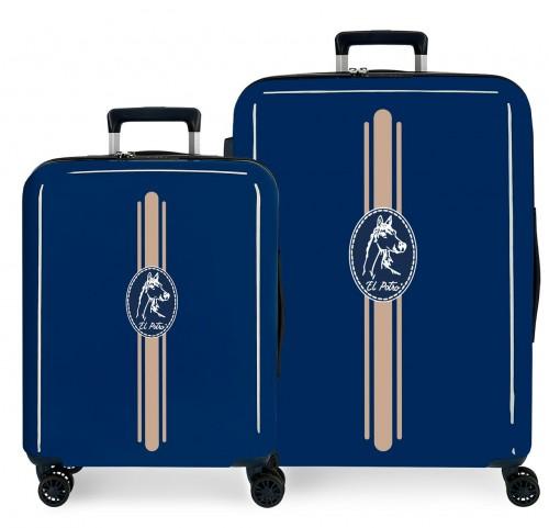 5099521 juego maletas cabina y mediana el potro galán - frisión