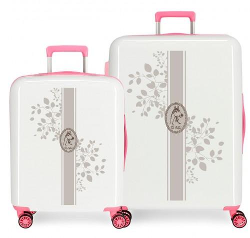 5099522 juego maletas cabina y mediana el potro galán - vann