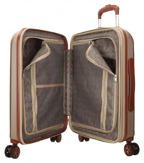 5738663  maleta cabina el potro ocuri color  champagne interior