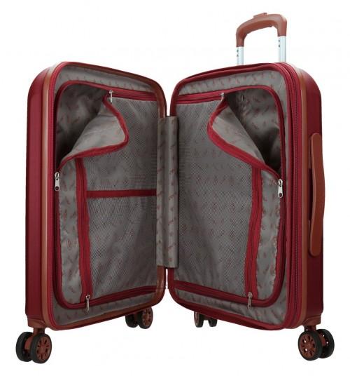 5738664 maleta cabina el potro ocuri color rojo interior