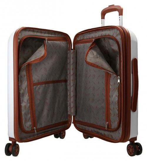 5738665-5 maleta cabina el potro ocuri color blanco interior