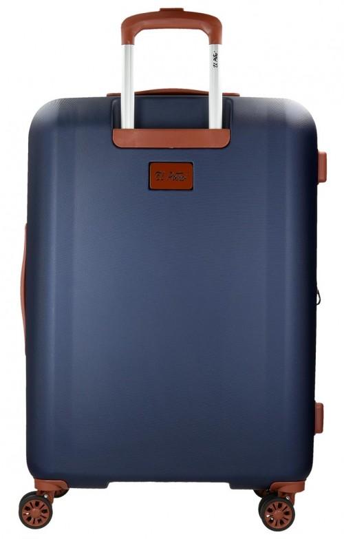 5738861 maleta mediana el potro ocuri  azul  trasera