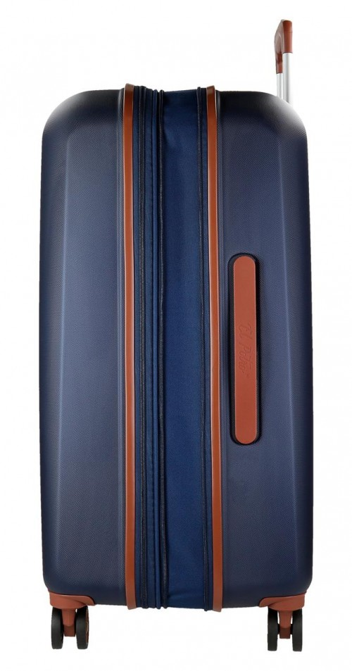 5738861 maleta mediana el potro ocuri  azul  expandible