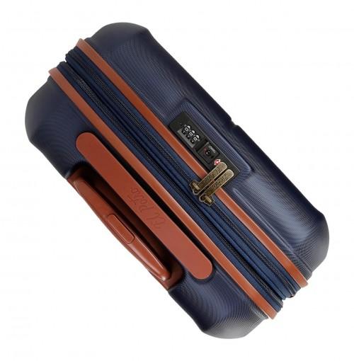 5738861 maleta mediana el potro ocuri  azul  vista superior