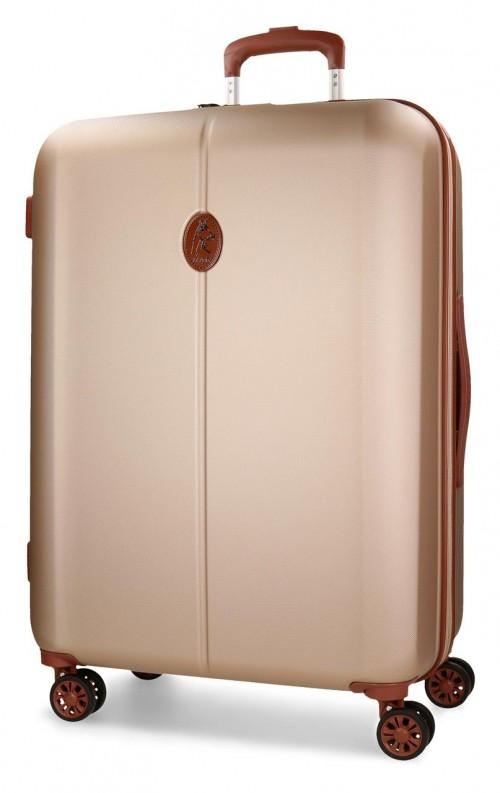 5738863 maleta mediana el potro ocuri color champagne