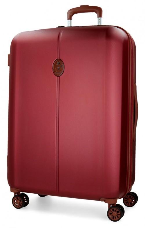 5738864  maleta mediana el potro ocuri color rojo
