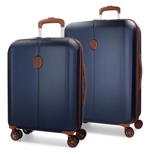 5738961 juego maleta cabina + mediana el potro ocuri azul